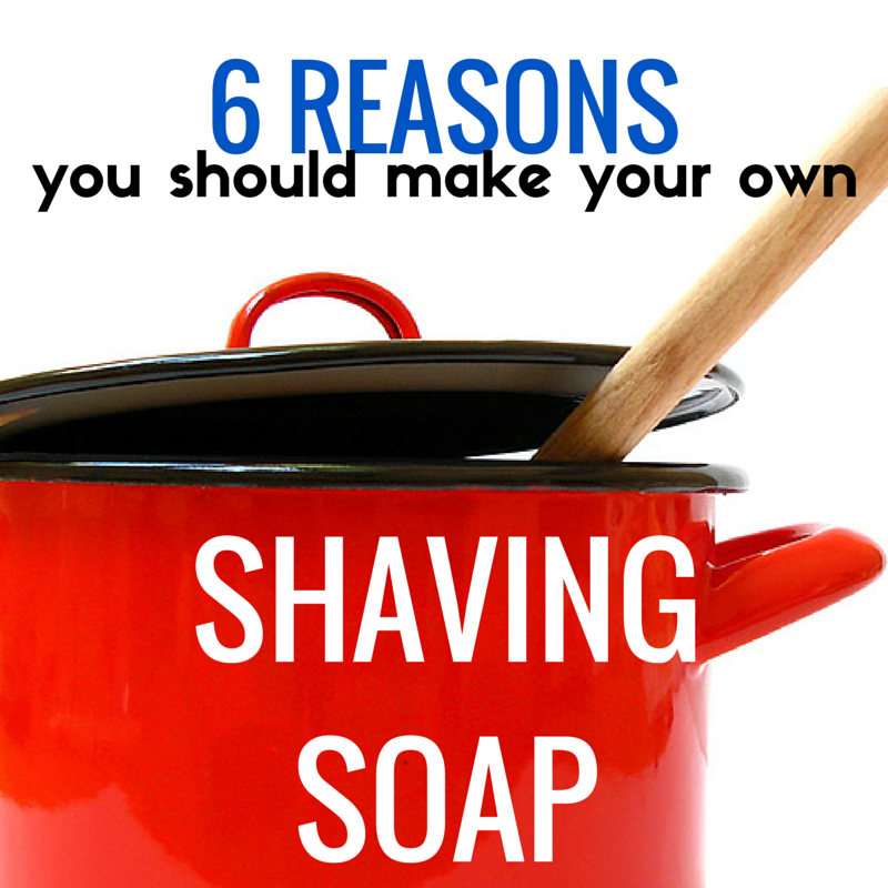homemade shaving soap