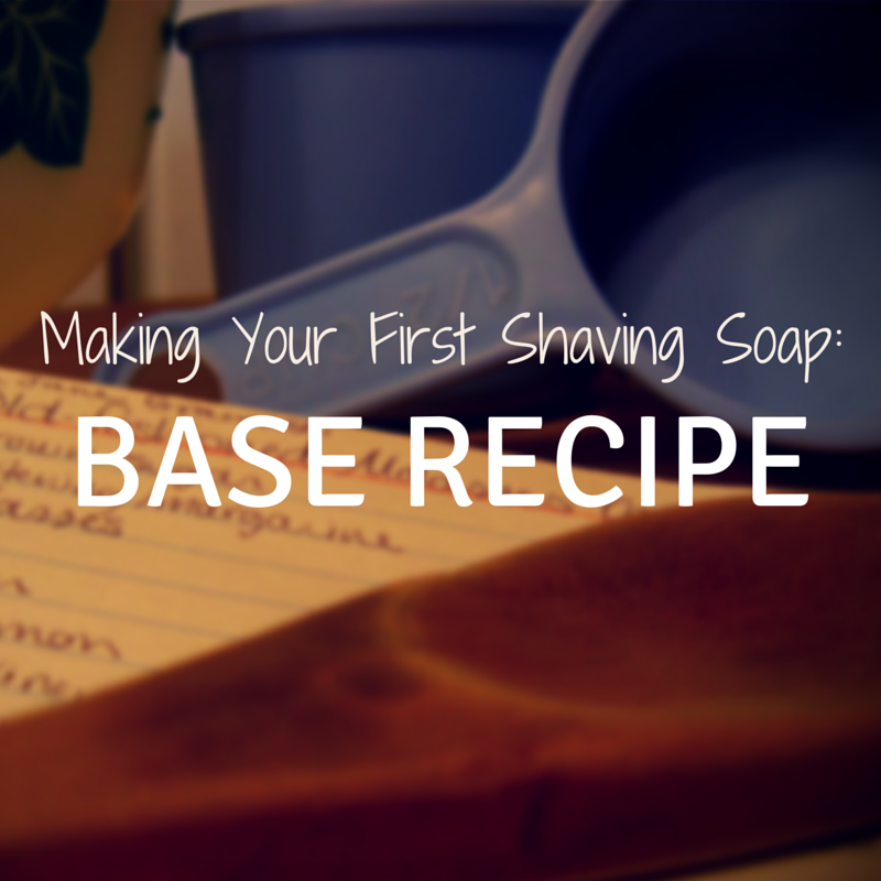 shaving soap recipe