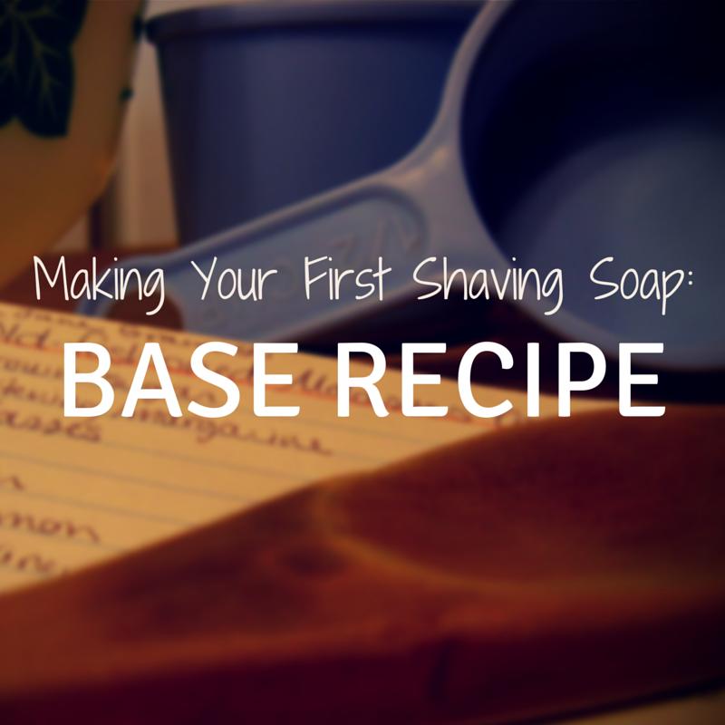 shaving soap recipe