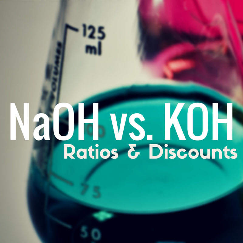 naoh vs koh