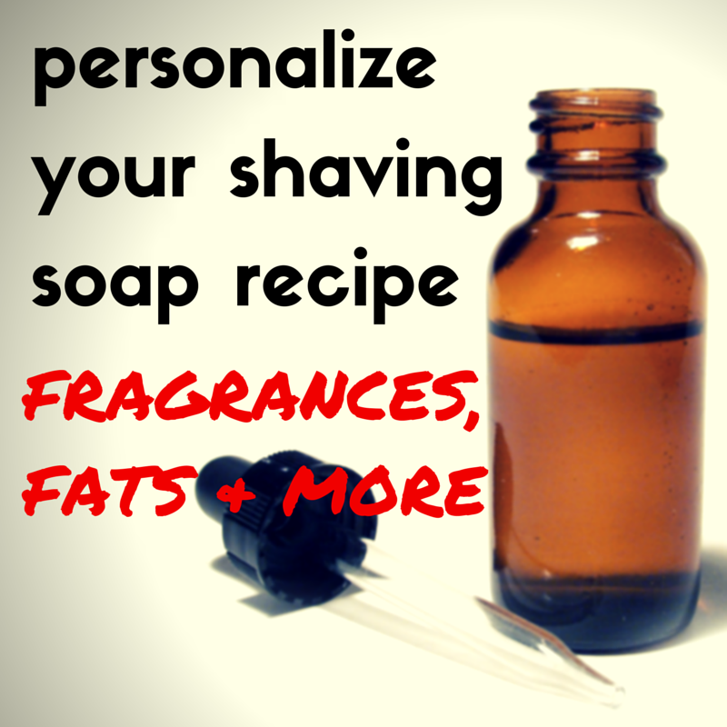 shaving soap recipe hot process
