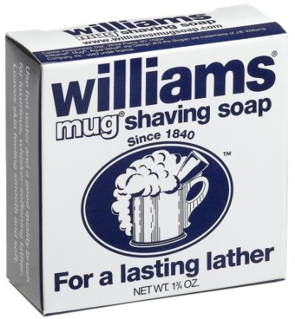 williams mug soap