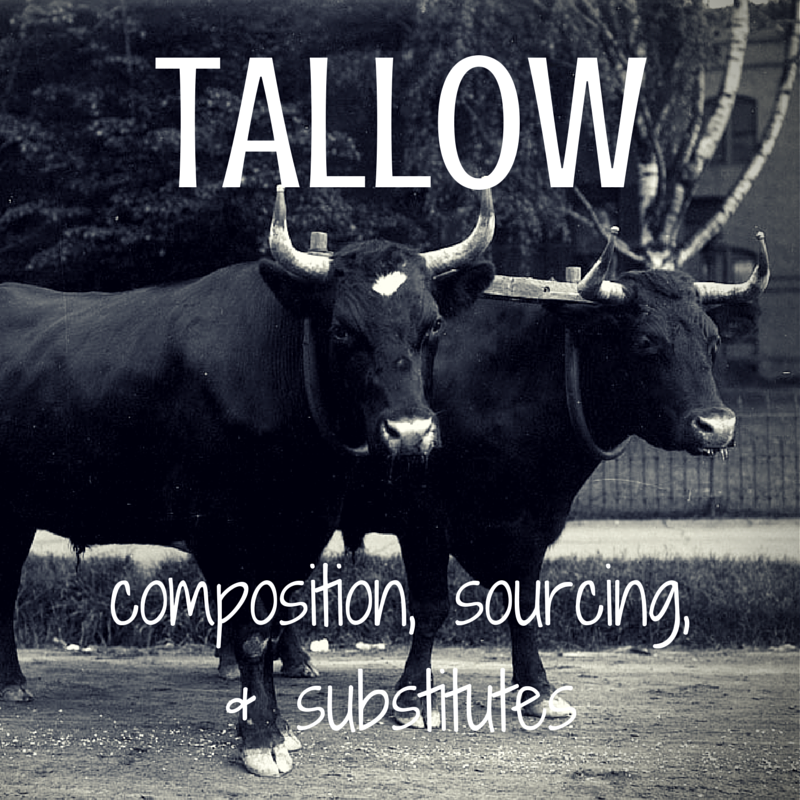 tallow shaving soap recipe